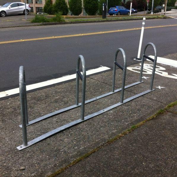 Bike rack boren ave seattle p0m9am