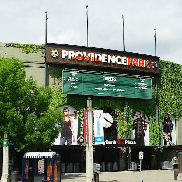 Providence park main entrance   portland  oregon c3pvno