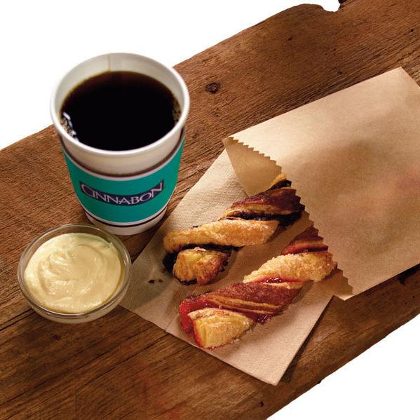 Cinn twist w frosting coffee high aqtutt