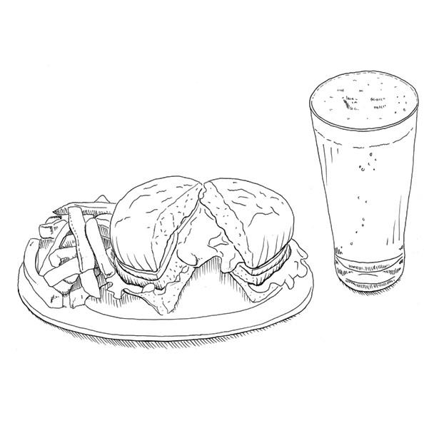 Burger beer hinb3u