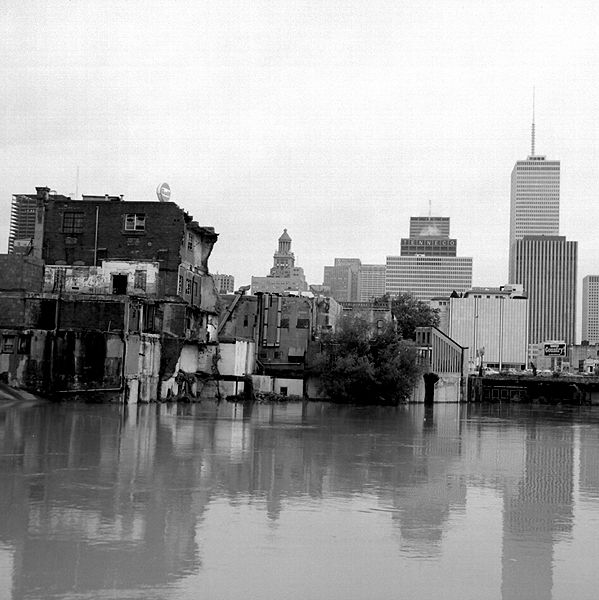 Buffalo bayou flood waters 1977 copy q0htiy
