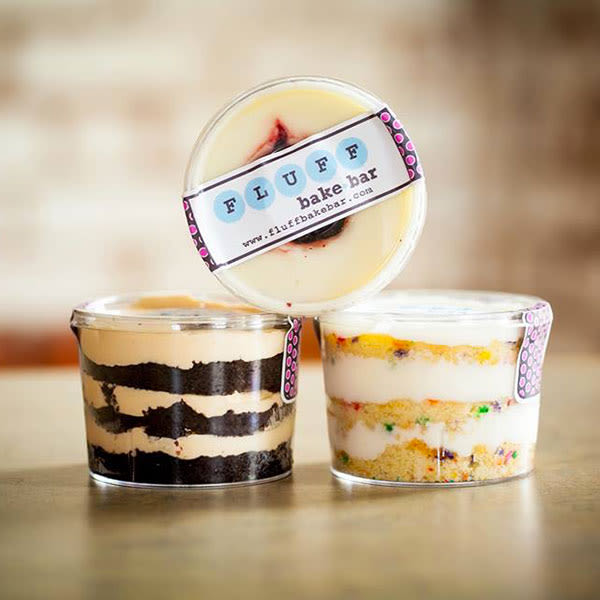 Fluff bake bar cake cups p60o0o