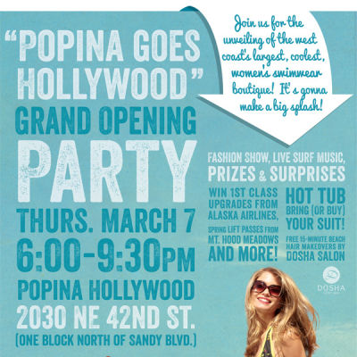 Popina grand opening flyer t3mxqk