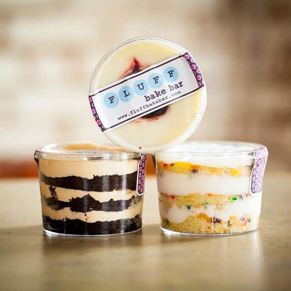 Fluff bake bar cake cups p60o0o