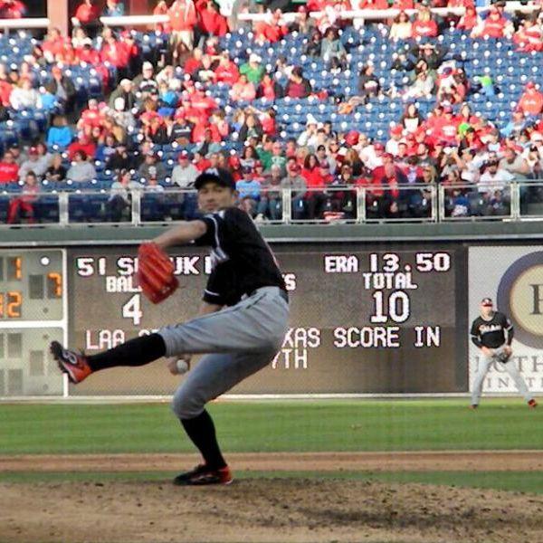 Ichiro pitching us966h