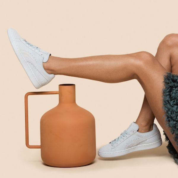 Solange x pumas word to the woman fall 2015 collection light blue suede product 700x468 jmbxjh