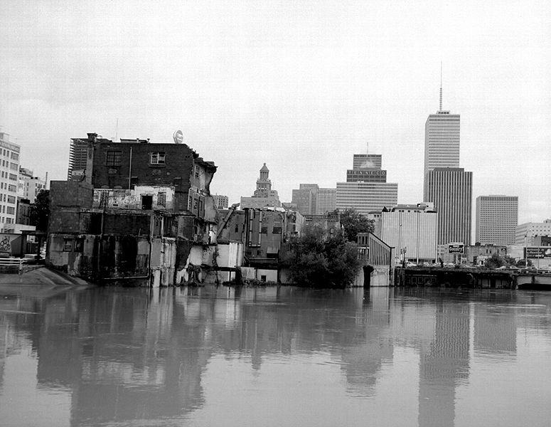 Buffalo bayou flood waters 1977 copy q0htiy