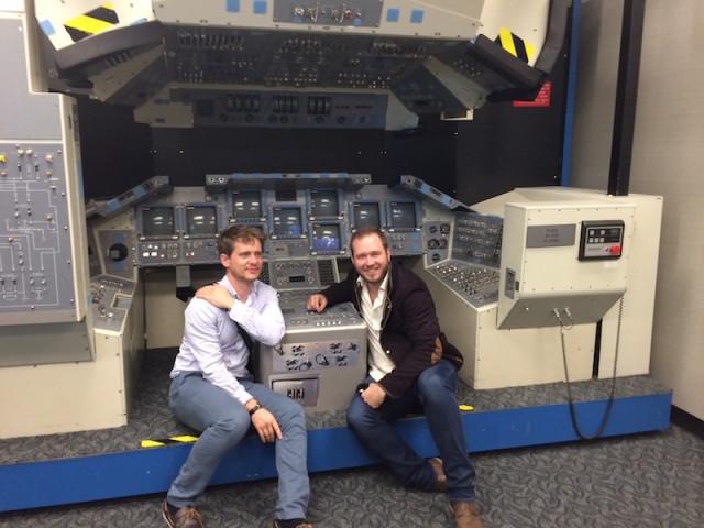 Spears and vavrek at johnson space center qatfgd
