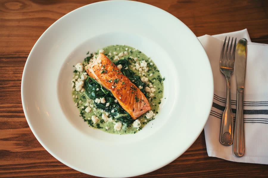 Baker wife sarasota seafood cafe restaurant best salmon 69 abm3f0