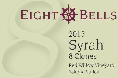 2013 eight bells syrah ta6vak