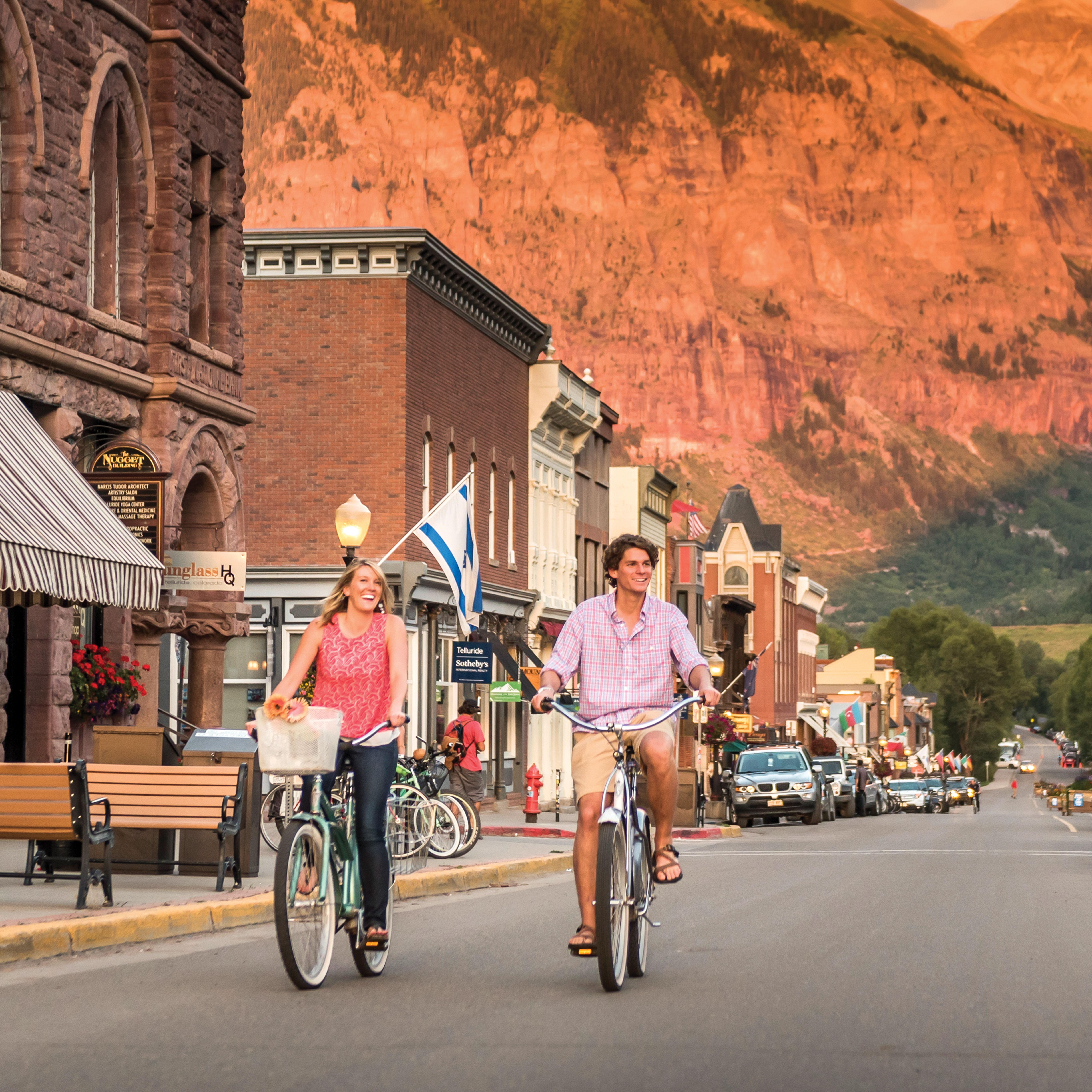0717 mountain getaways telluride bikes f3kz2y