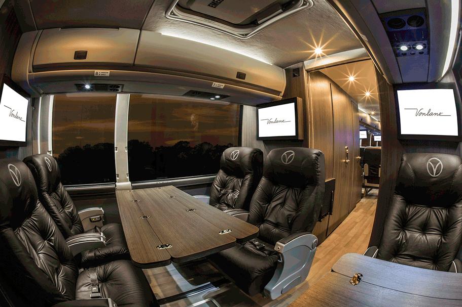 Vonlane Brings Its Luxe Bus Service To Houston Houstonia Magazine