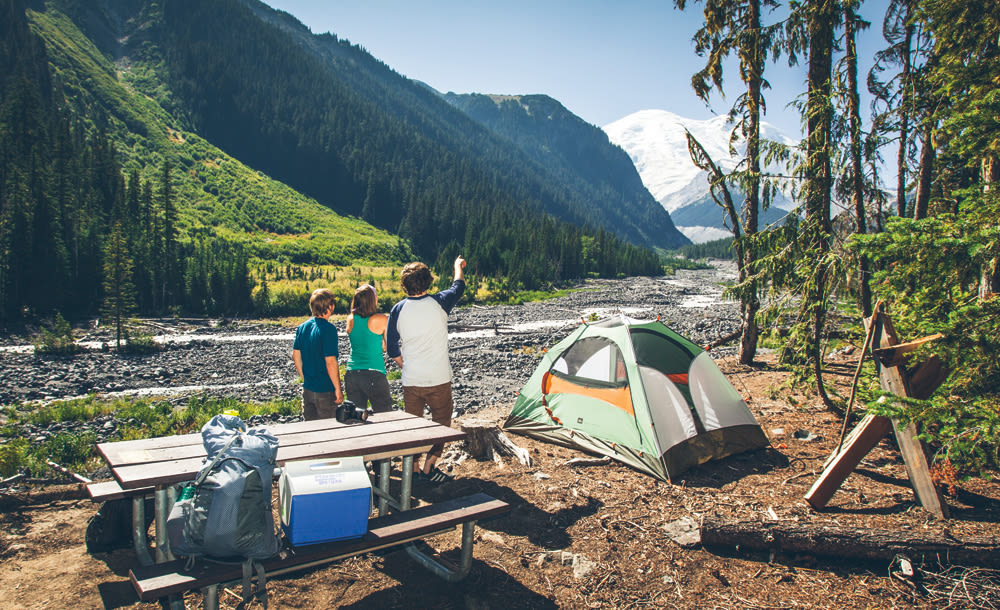Should Mount Rainier Have Cell Service Seattle Met