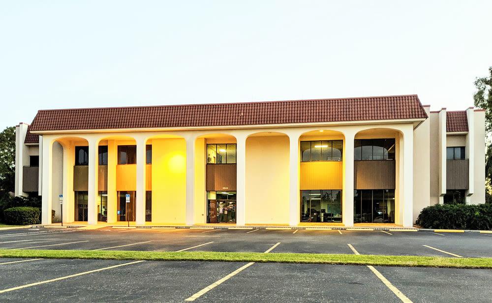 The former AAA Sarasota building at 3844 Bee Ridge Road.