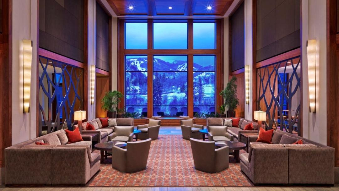 Riverfront spa lobby txdqlz