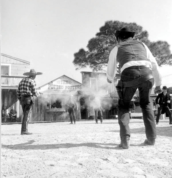 A petting zoo and cowboy shootouts were highlights at Floridaland.