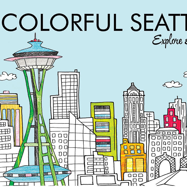 Seattle coloring book zphhtk