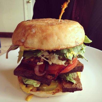Plum bistro smoked tofu burger nusa83