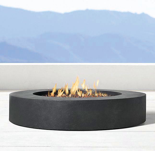 Topanga round fire table cg8zch