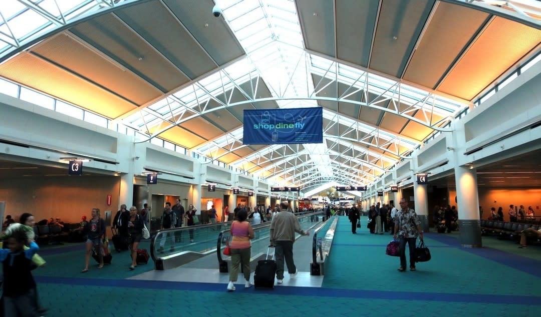 Portland international airport terminal eric broder van dyke xb7ohx h7fy1o