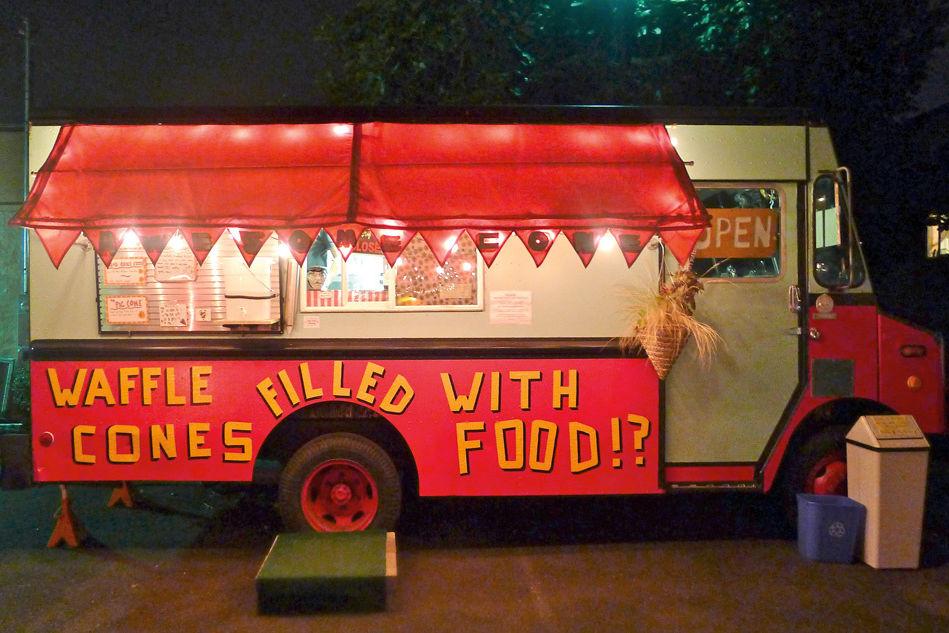 0912 waffle cone foodcart srx1jx