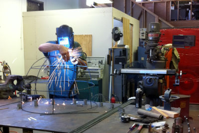 Welder at adx msiele