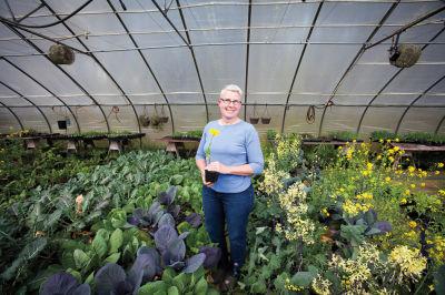 Cindy krepky in greenhouse c2jjgr