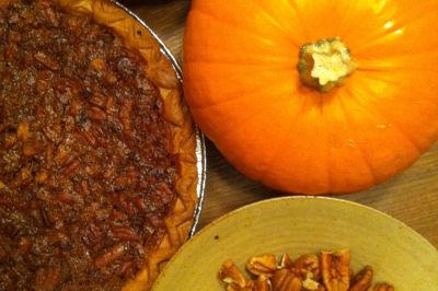 Pumpkin pecan pie ql3rdp