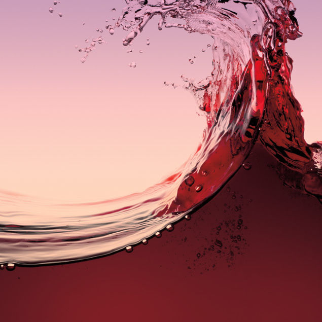 Red wine splash oquxtk