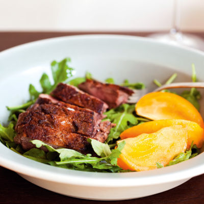 Duck breast persimmons mpw6m8
