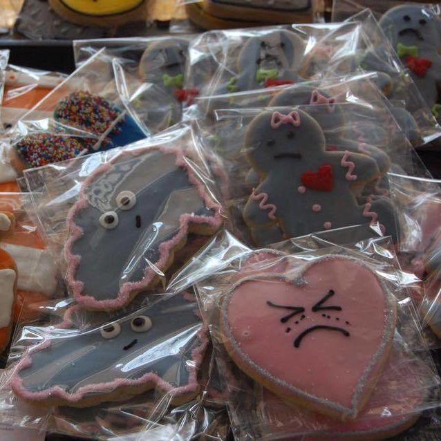 Depressed cookies q07qxf