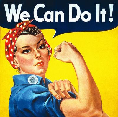 J howard millerwe can do it poster yabdze