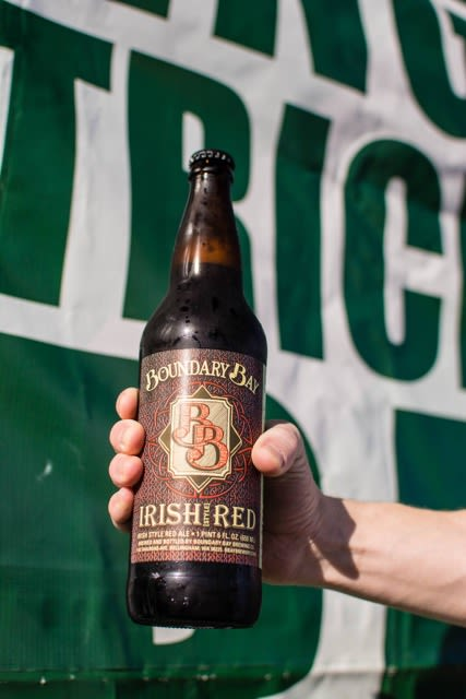 Irish red bottle upkqbw