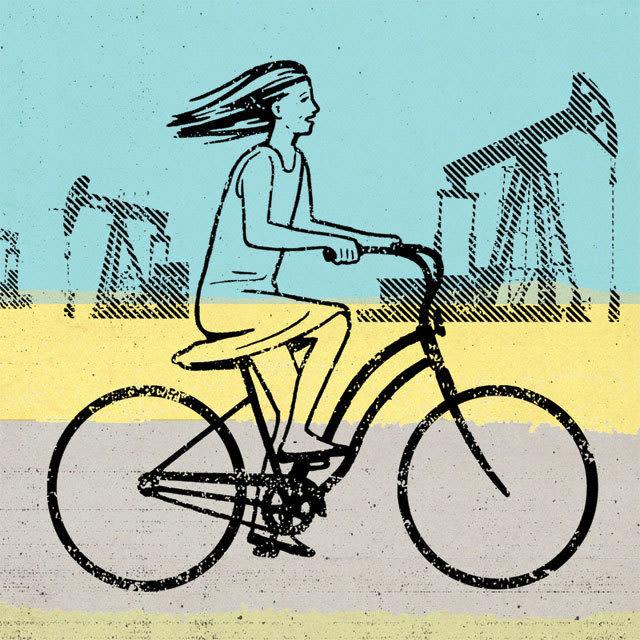 1214 h town diary illo bicycle girl orbsq8