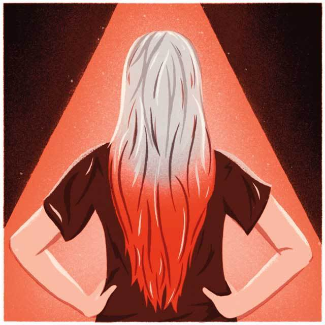 Seattle gray hair ombre acjmnn