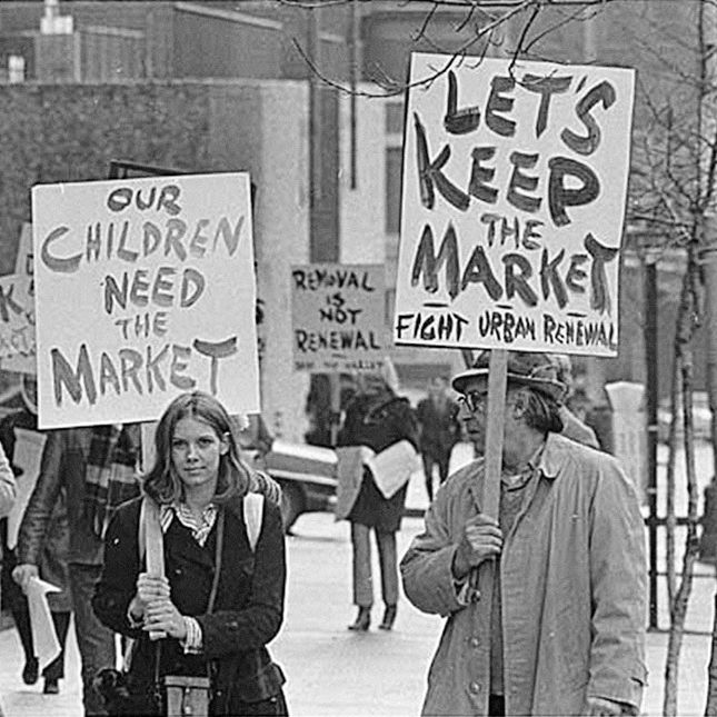 Pike place market protest 1971 ak1sq0