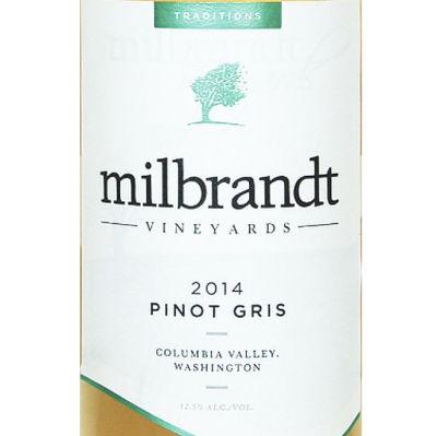 Milbrandt vineyards 2014 traditions pinot gris lsokun