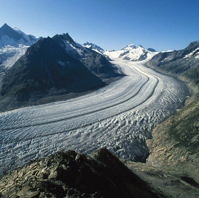 Aletsch glacier qwlwqs