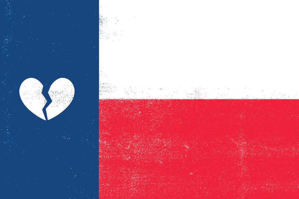 0715 diary texas flag broken heart biwonf aul3nh