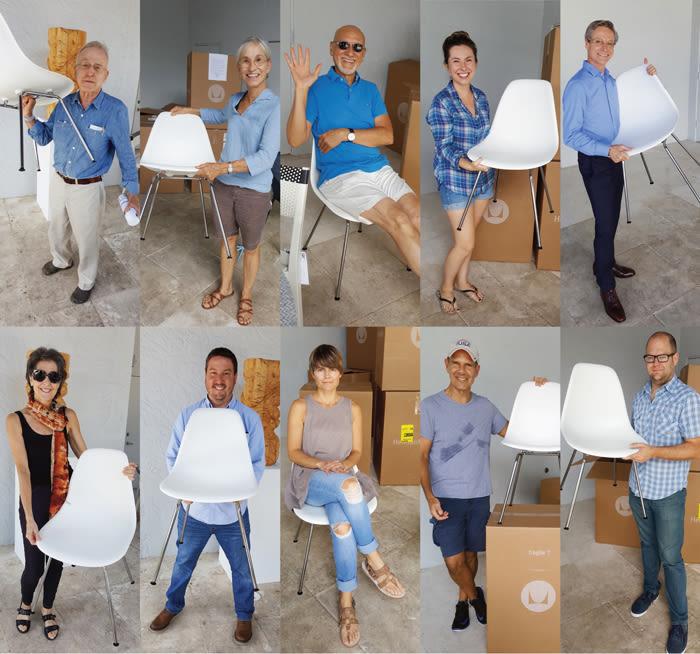 Mod artist chairs t57xch