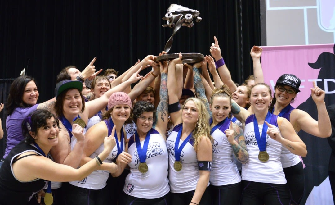 Rose city rollers national champions malys5 jhgjwi