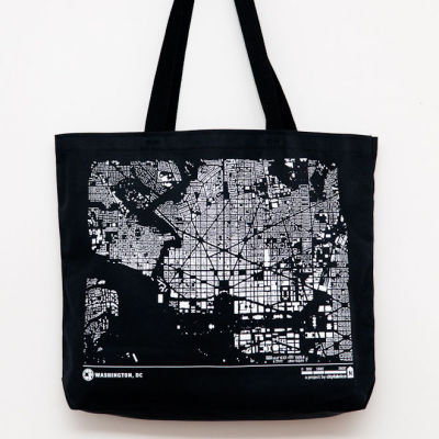 Washington tote black mc1yuk