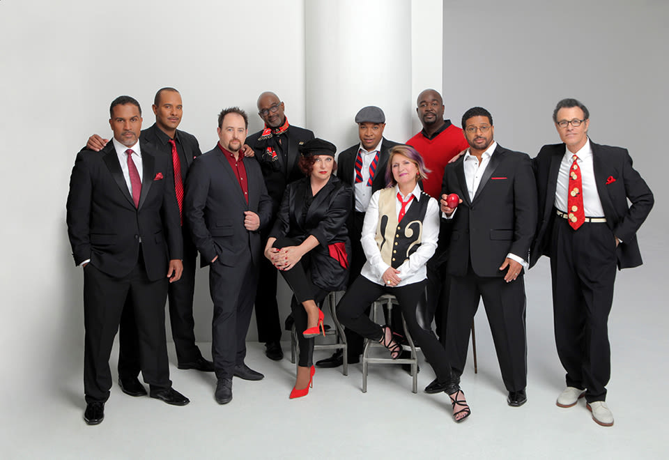 The manhattan transfer meets take 6 van wezel lw7sr7