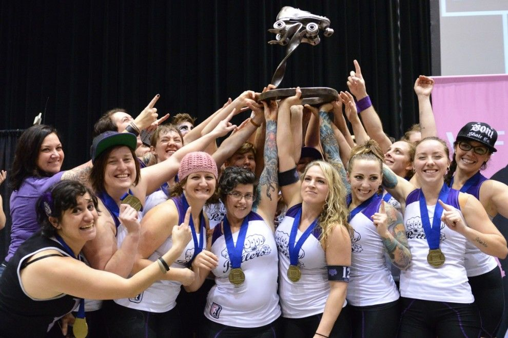 Rose city rollers national champions malys5 phm1hp