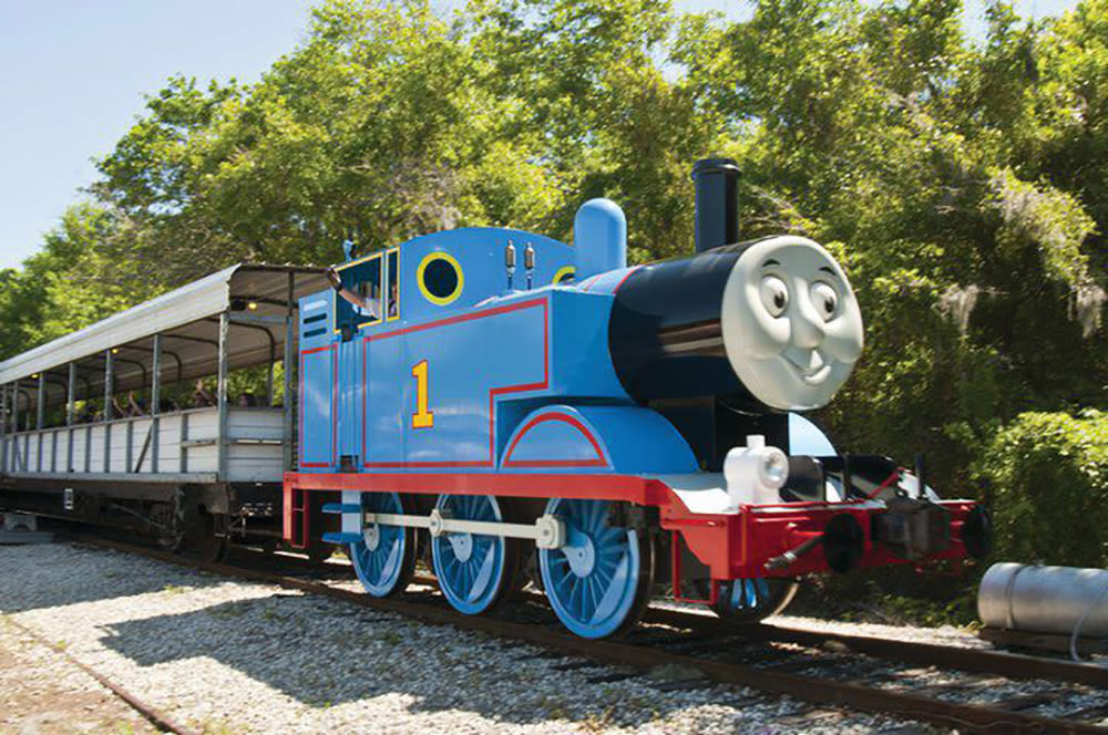 The Florida Railroad Museum offers lots of fun for families.