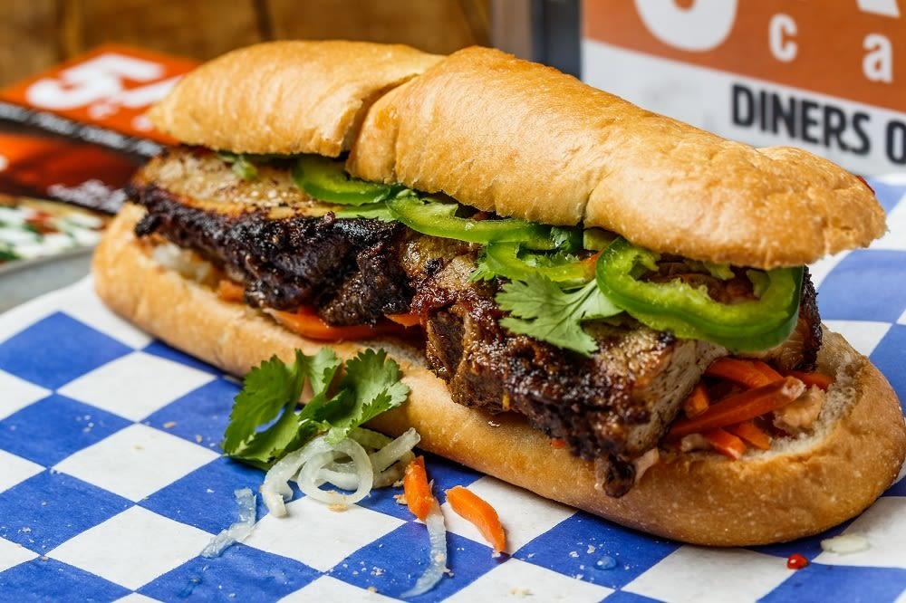 Vietnamese banh mi sandwich ydirgx