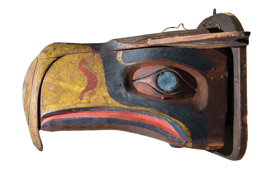 Seahawks mask courtesy the hudson museum aaejto