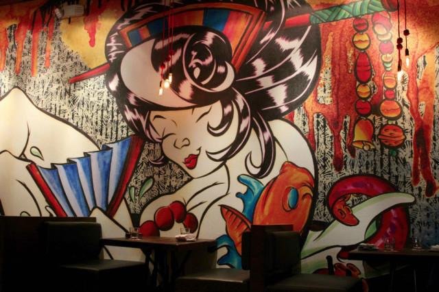Izakaya mural jqgjo0