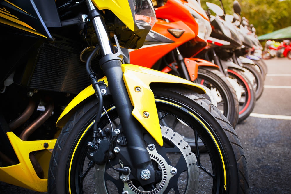 Motorcycles shutterstock.com sg07sg