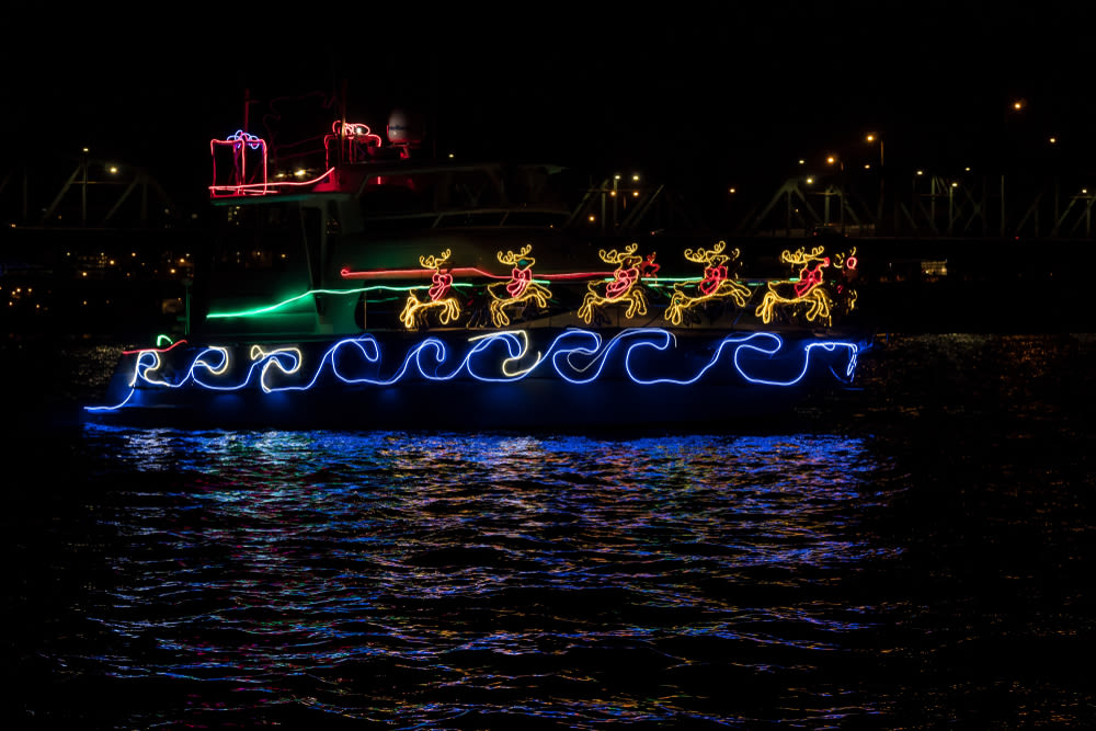 Christmas Boats Portland 2019.The Venice Christmas Boat Parade Returns Dec 1 Venice